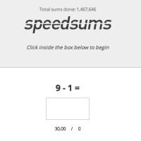 speedsums