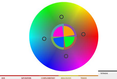 color-tetradic