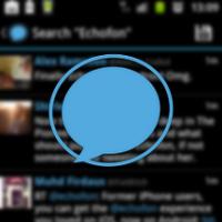 Android版Echofon
